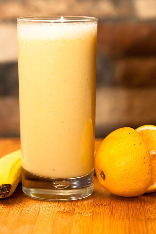 Banana Orange Shake