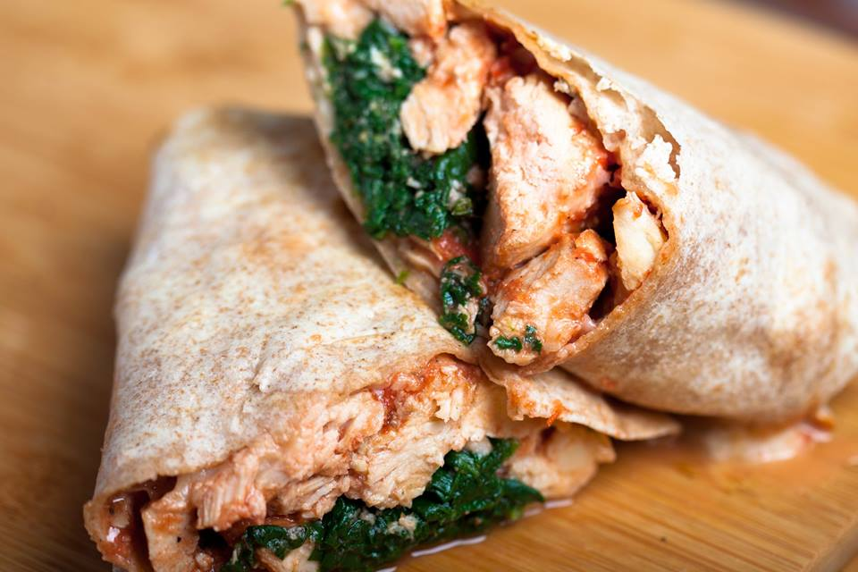 Chicken and Spinach Sandwich