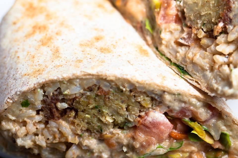 Falafel Burrito