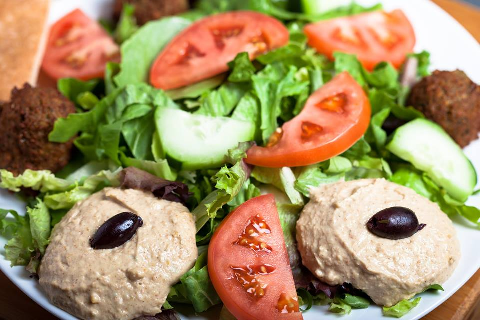 Falafel w/Hummus Salad