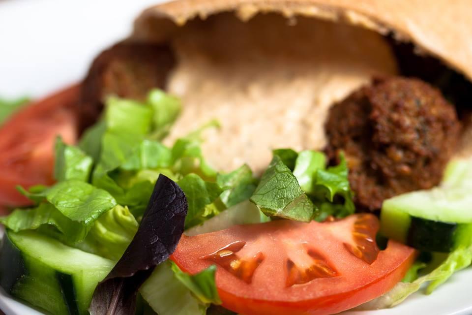 Falafel w/Hummus Sandwich
