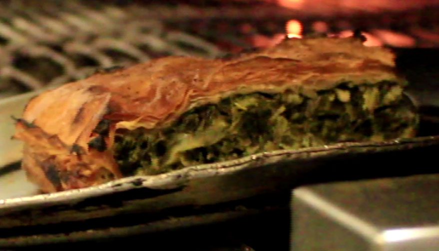 spinach pie featured image