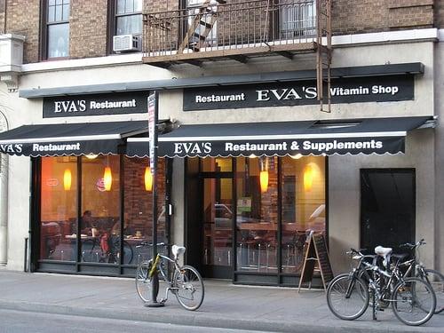 Eva's storefront